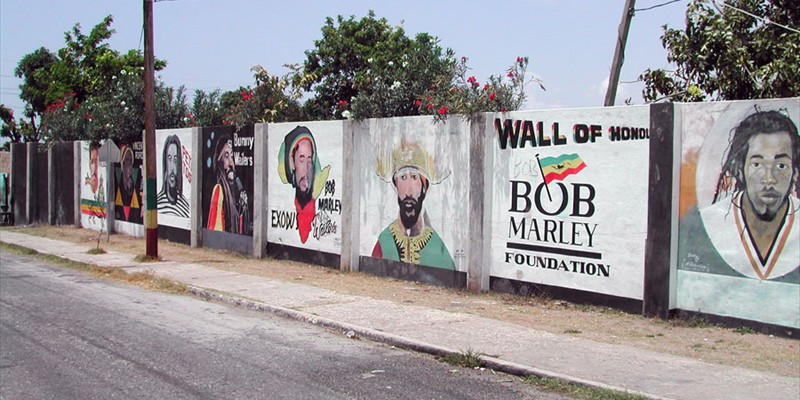 Murales Trenchtown Kingston