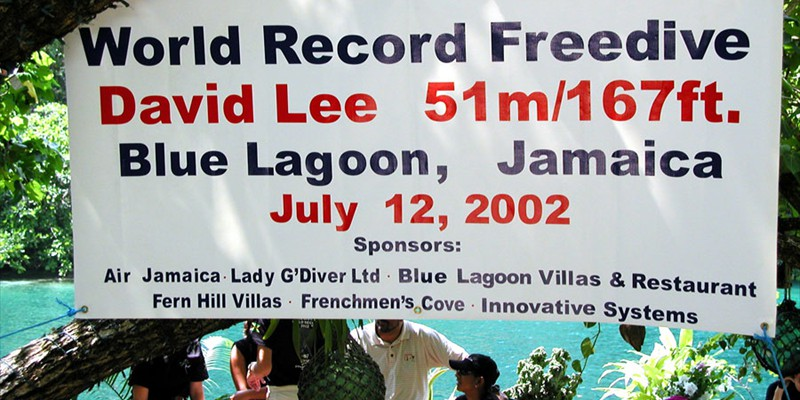 World Record at Blue Lagoon