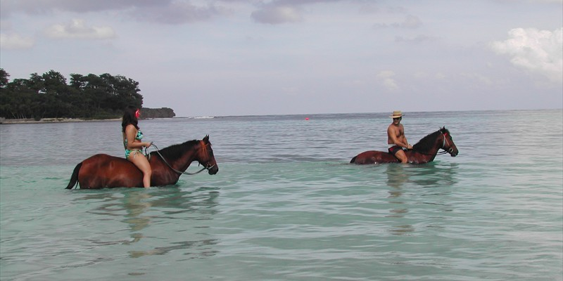 Horse Riding at San San Beach