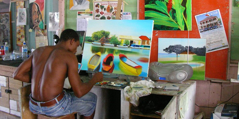 Jamaican Painter