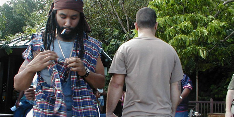 Kymani Marley at Geejam Studio