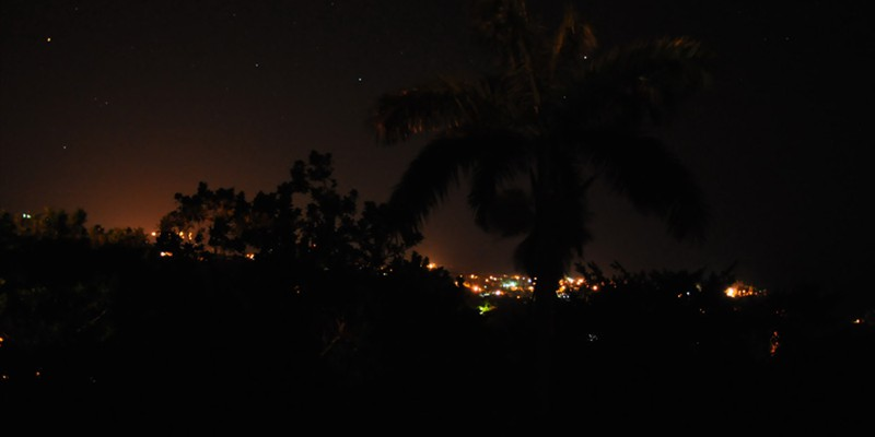 Port Antonio by night