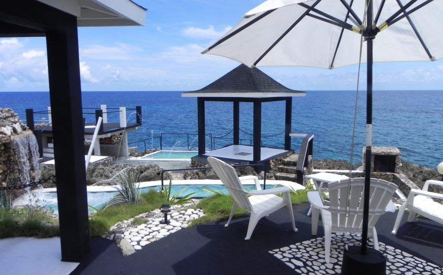 Jamaica Gazebo View From Hotel Room